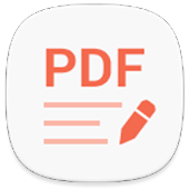 Write on PDF icon