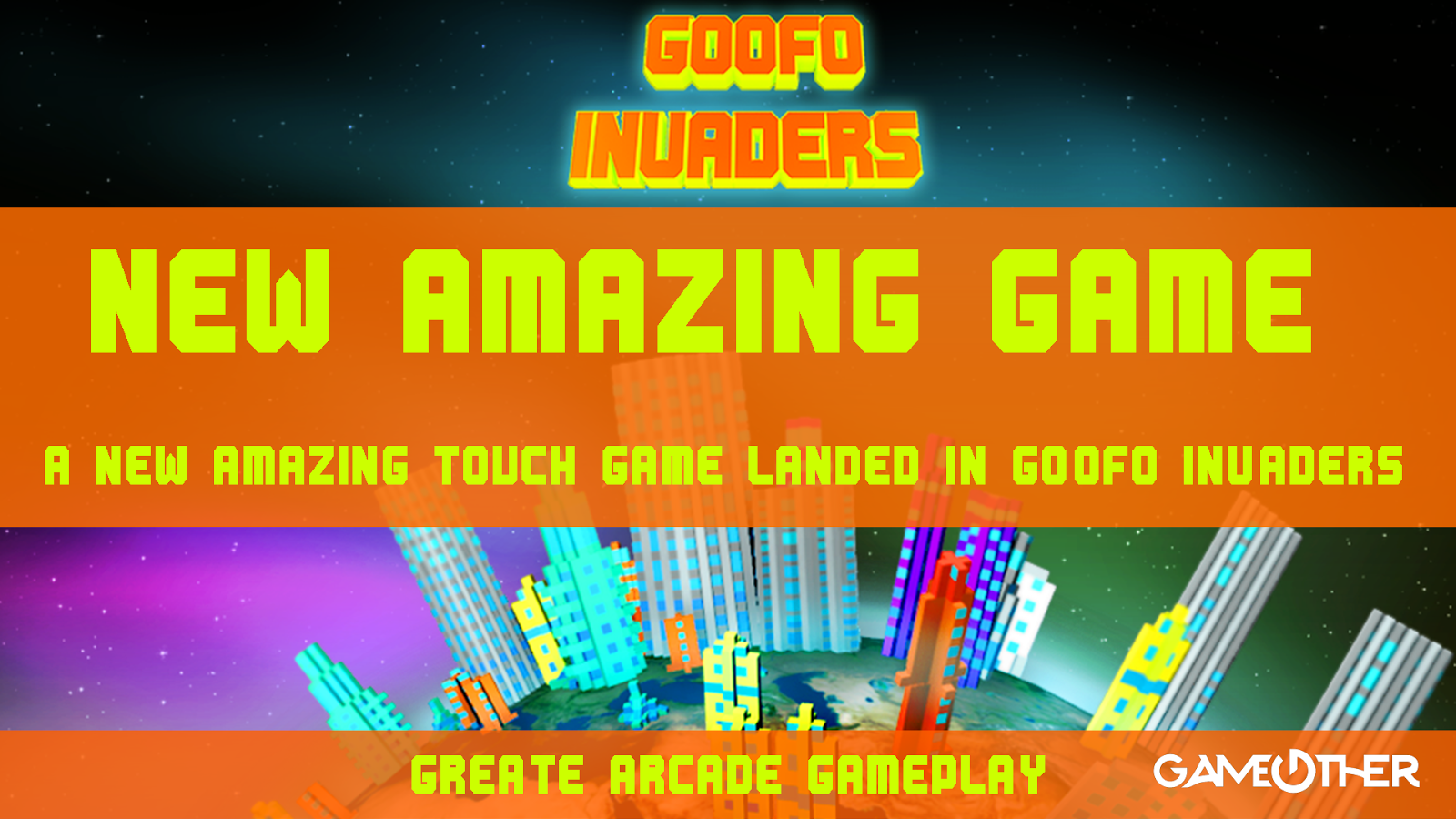 Goofo Invaders- screenshot