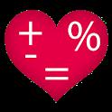 מחשבון אהבה אמיתי icon
