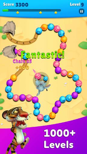 Marble Wild Friends - Shoot & Blast Marbles 1.14 screenshots 6