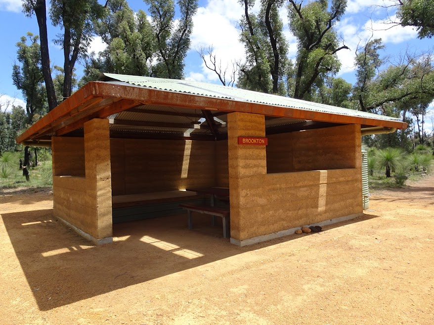 Brookton Shelter was rebuilt after a wildfire