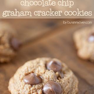 Chocolate Chip Graham Cracker Cookies.