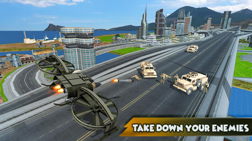 Drone Attack Shadow: Stealth Gunship Strike War Games (apk) free download for Android/PC/Windows screenshot