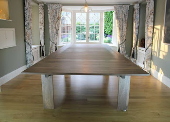 Lingfield Dining Table view with Eight Chairs