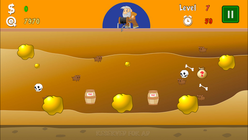 Gold Miner Classic Lite - screenshot