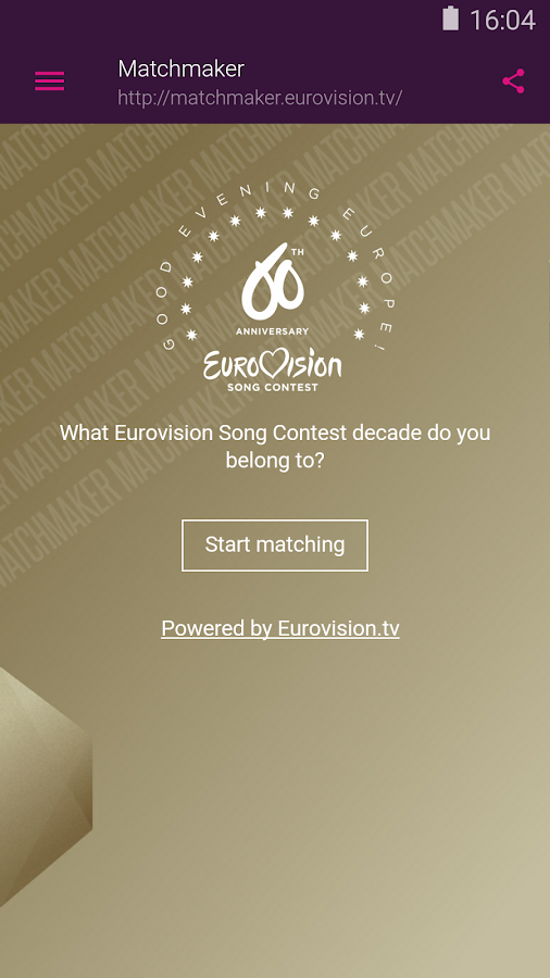 Eurovision Song Contest- screenshot