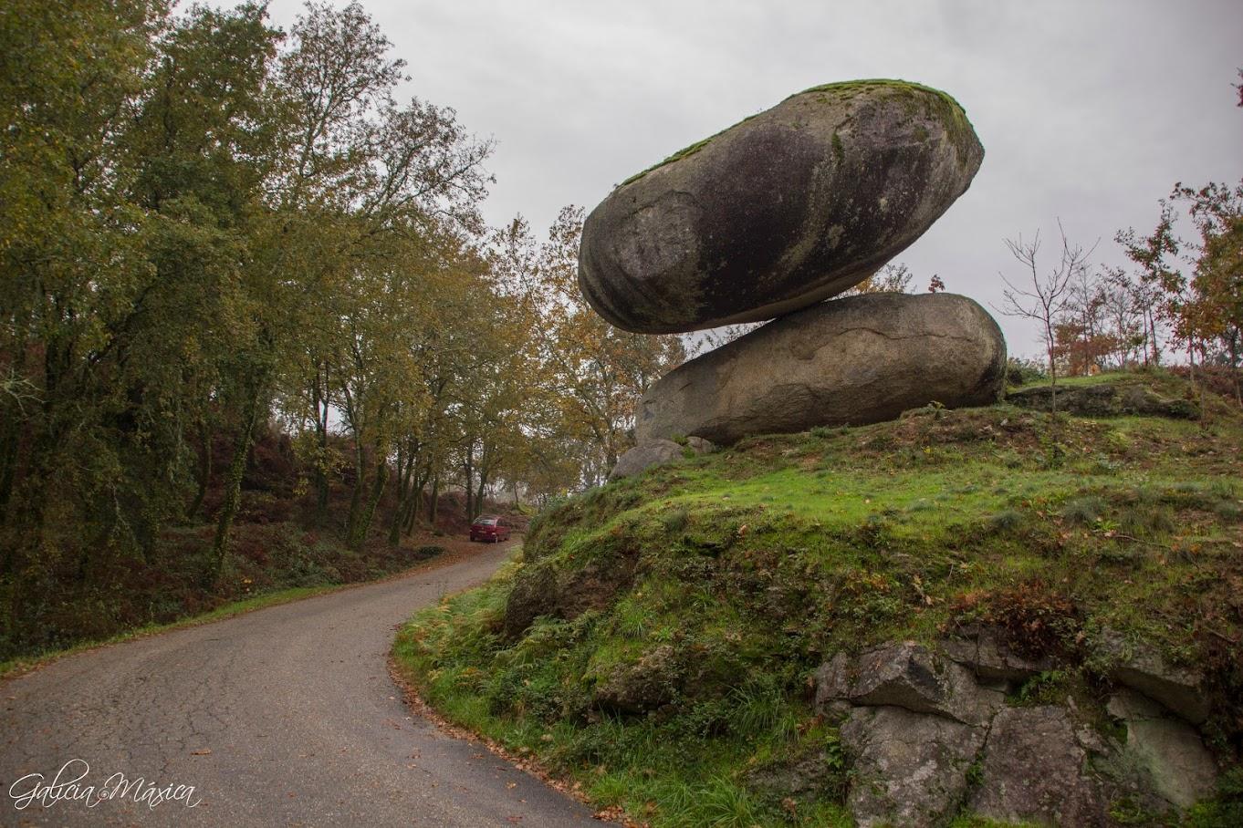 Pena do Equilibrio en Ponteareas
