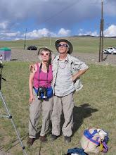 Photo: Obligatory Dee and Bob eclipse photo