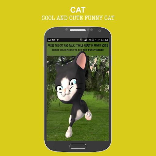 玩免費娛樂APP 下載Cat Talking and Dancing Funny app不用錢 硬是要APP