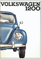 VW 1200 blå