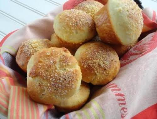 "Mozzarella Cheese Yeast Dinner Rolls ""My husband and kids can never get..."