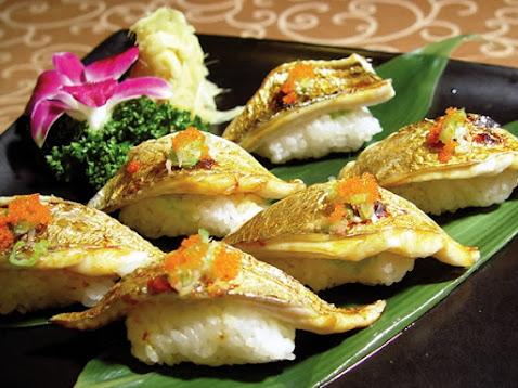 白帶魚握壽司