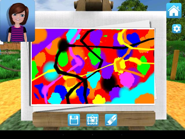 android Crayola Bubbles Screenshot 3