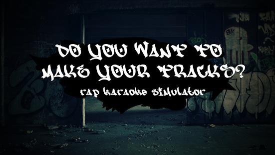 Rap karaoke simulator - náhled