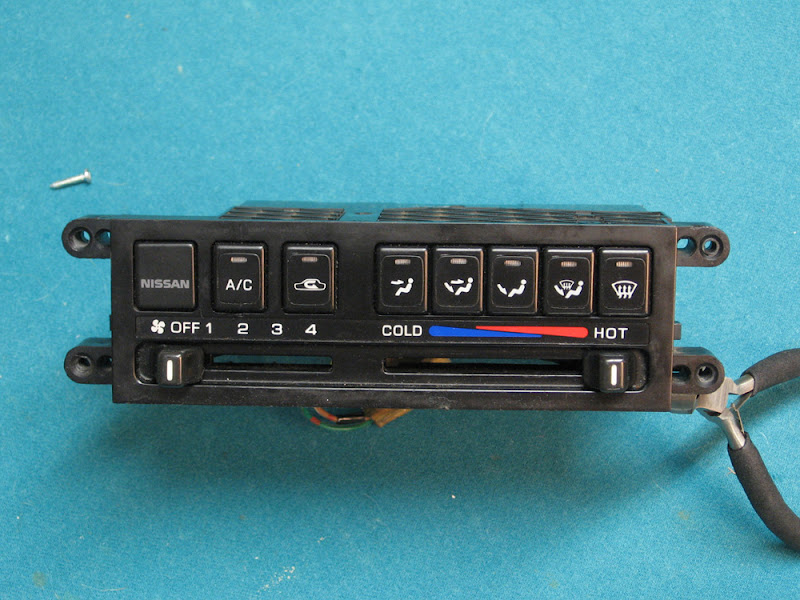 240sx Climate Control and Dash Light Replacement
