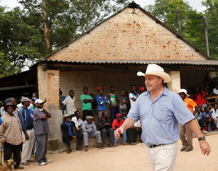 Ululations, tears as white Zimbabwean farmer returns to