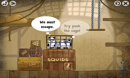 3 Pandas — Escape Game