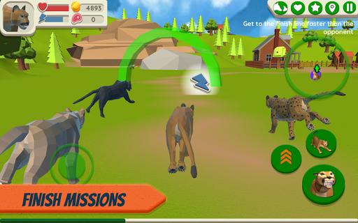 Cougar Simulator: Big Cat Family Game apktreat screenshots 2