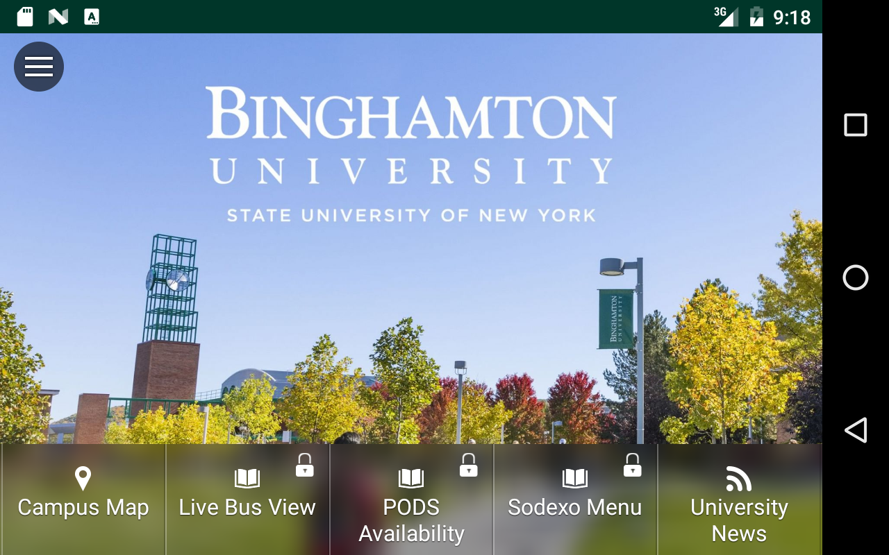 Binghamton University - bMobi- screenshot