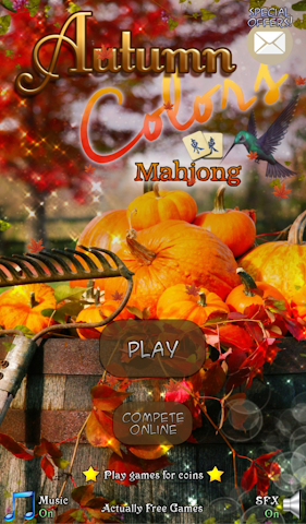 android Hidden Mahjong: Autumn Colors Screenshot 0