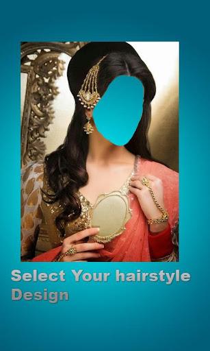 Girls HairStyles Photo Montage Screenshot