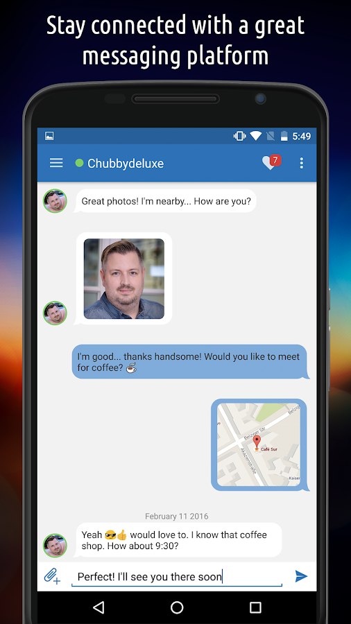 BiggerCity: Chat for gay bears, chubs & chasers- screenshot
