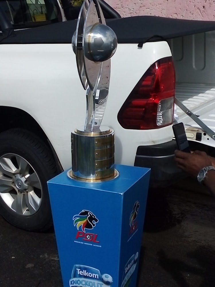 KZN police recover stolen car with replica Telkom Knockout trophy and tickets ahead of Durban final - TimesLIVE