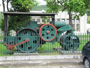Photo: Day 68 - Steam Roller on Display in Esztergom