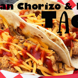 Authentic Mexican Chorizo and Egg Tacos.
