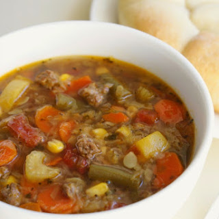 Vegetable Beef Soup Crock Pot With Cabbage Recipes.