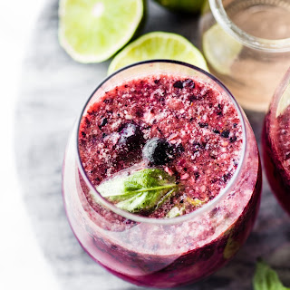 Berry Frosé Wine Slushie (Frozen Rosé).