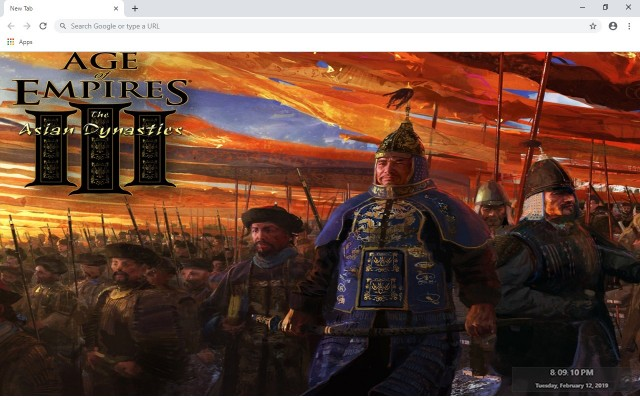 Age Of Empires 3 New Tab