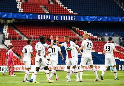 Coupe de France : Le PSG atomise Angers, Monaco élimine l'OL