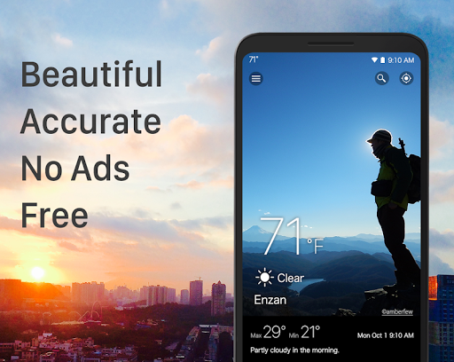 Weather & Widget - Weawow screenshot 1