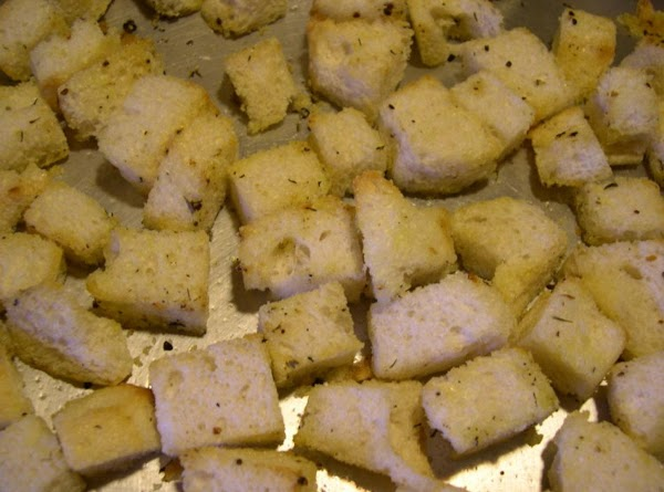 Make the Croutons: Position a rack in the center of the oven and heat to...
