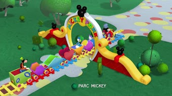 La gare de Mickey