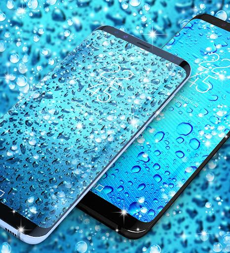 Water drops live wallpaper 8.8 screenshots 5