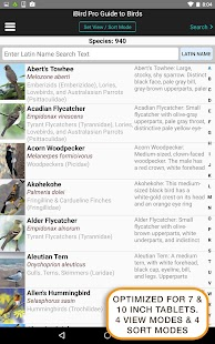 iBird Pro Birds North America- screenshot thumbnail