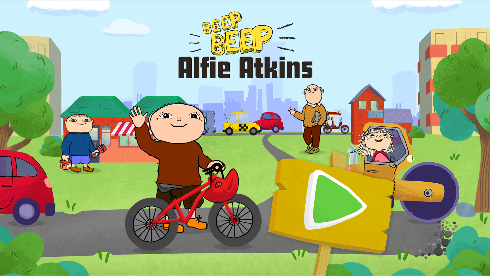 Beep, beep, Alfie Atkins- screenshot