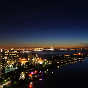 Bay area evening by Mehdi Laraqui - Landscapes Starscapes