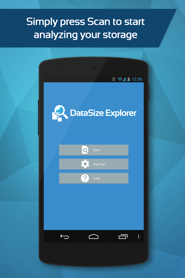 DataSize Explorer- screenshot