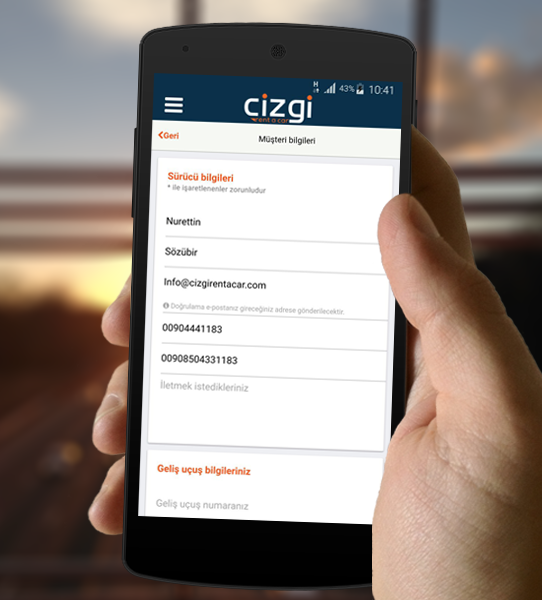 Cizgi Rent A Car- screenshot