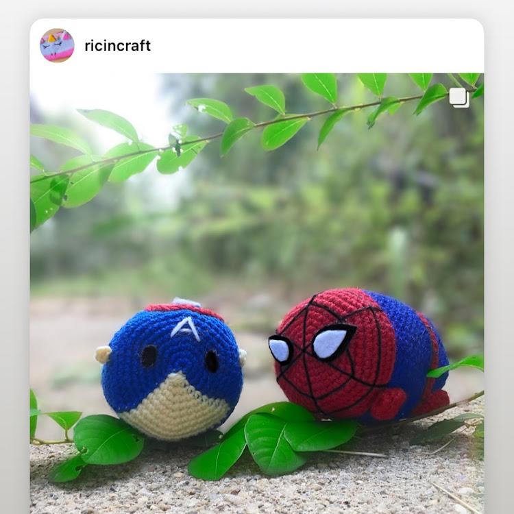 Crochet Tsum Tsum by Ricincraft