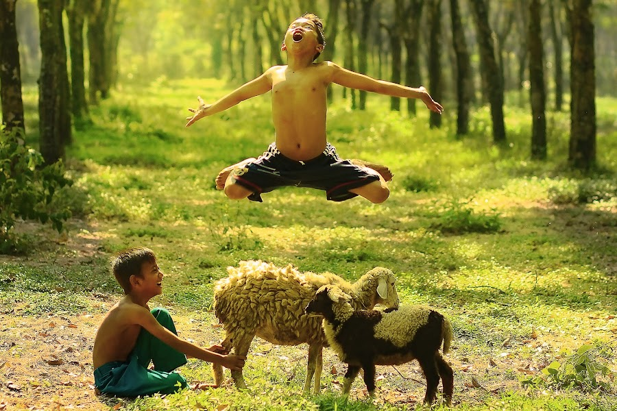 FREEDOM.....!!!! by Aad S. Ahmad - Babies & Children Children Candids ( Free, Freedom, Inspire, Inspiring, Inspirational, Emotion )