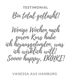 Testimonial Vanessa
