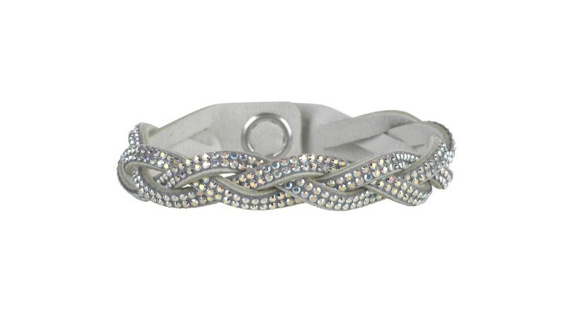 Photo: Entwined Glamour Bracelet by SWAROVSKI CRYSTALLIZED™ - Shop online: http://bit.ly/QwW3gy