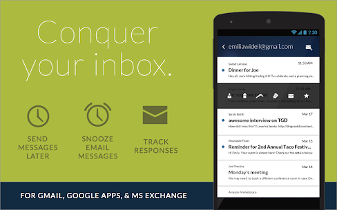 Boomerang Mail – Gmail, Outlook & Exchange Email Apk Download For Android 9