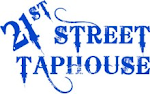 Logo for 21st Street Taphouse