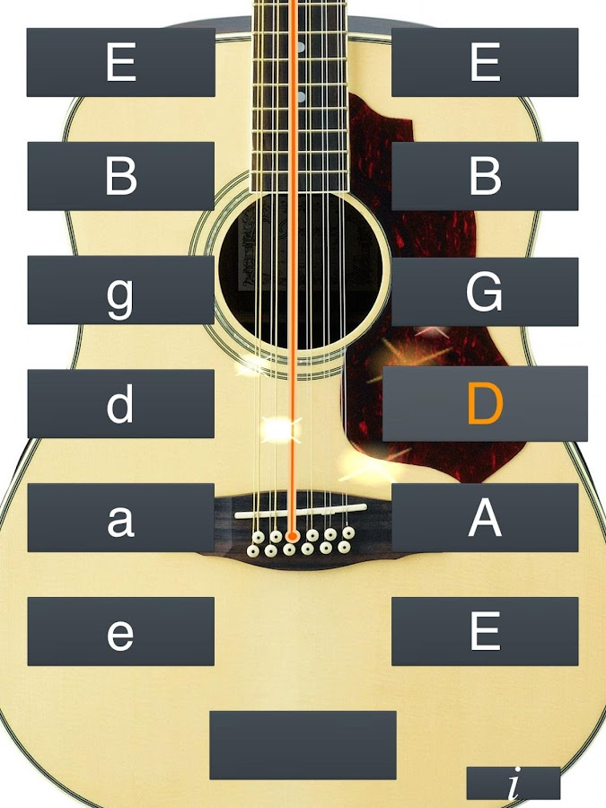 Tuner 12 String Guitar : 12 string guitar tuner simple android apps on google play ~ Russianpoet.info Haus und Dekorationen