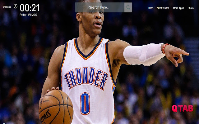 Nba Russell Westbrook Wallpapers Hd Theme